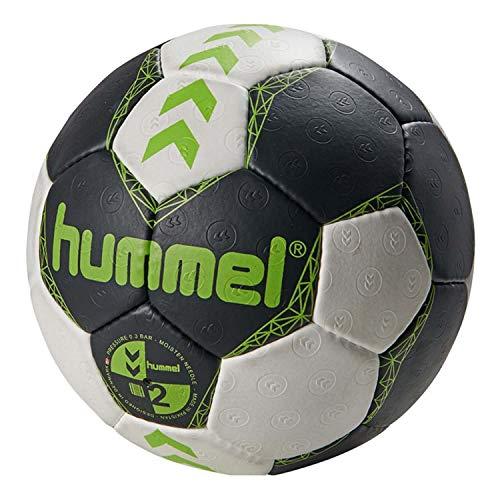 Hummel Erwachsene Court Handball, Asphalt/Green Lime, 2 Preisvergleich