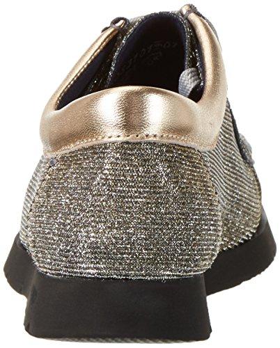 Sioux Grash-d162-10, Mocassins Femme Or - Gold (gold-silver/sisal)