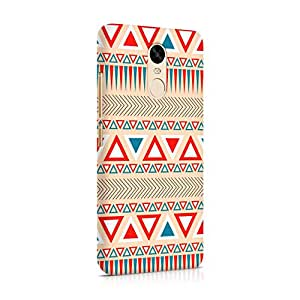 Cover Affair Aztec Printed Designer Slim Light Weight Back Cover Case for Nokia 6 (Red & White & Blue & Other)