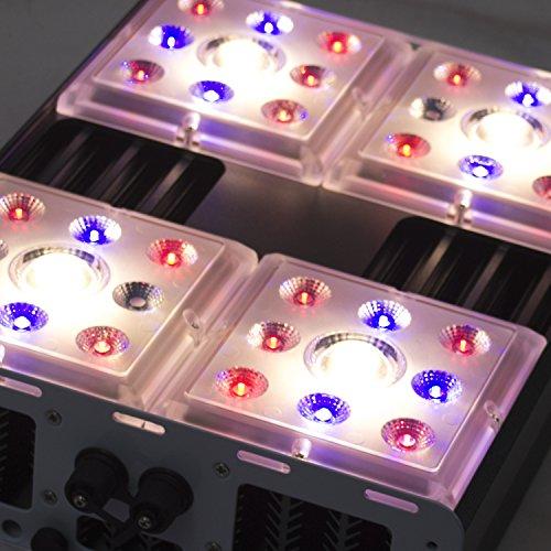 132W Greenception Wifi LED • Hochwertige COB Full Spectrum Pflanzen-lampe mit IR & UV • Passivgekühlt Wasserdicht IP65 perfekt für Gewächshäuser & Grow-boxen • Profi Pflanzenlicht für die Anzucht, Wuchs & Blüte • ersetzt 250W NDL Natriumdampflampe