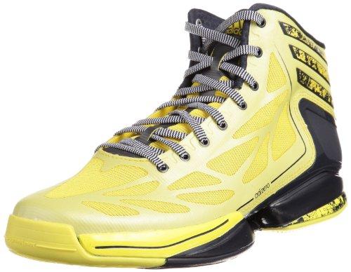 adidas Herren Adizero Crazy Light 2 Basketballschuhe, Gelb (Vivid Yellow S13 / Dark Navy/Running White FTW), 47 1/3 EU
