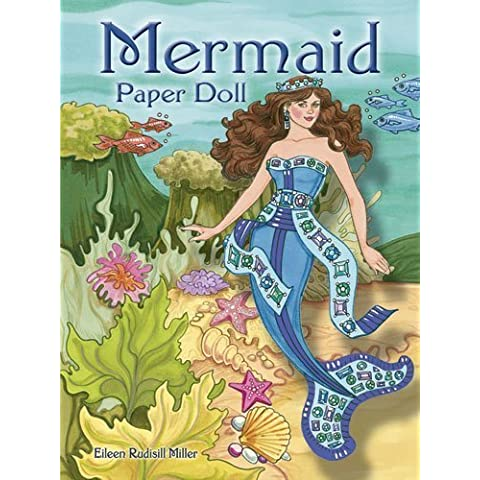 Mermaid Paper Doll (Dover Paper Dolls) by