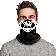LUNGEAR Bandana Neck Gaiters Multifunction Headwear Elastic Tube Scarf Face Shield Headband Snood UV Resistenc