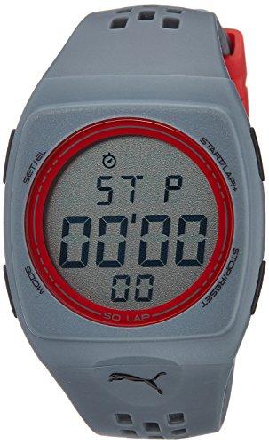 51R5GGAdcnL - Puma PU910991006 Digital Grey watch