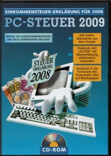 PC-Steuer 2009 – Einkommensteuererklärung für 2008