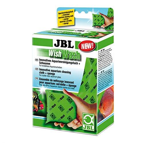 JBL Wish Wash 61526Gamuza de limpieza y esponja para acuarios y terrarios