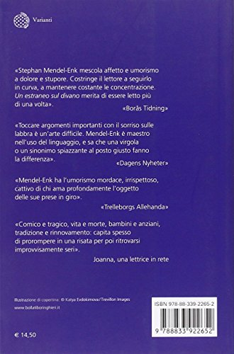 Libro Un estraneo sul divano di Stephan Mendel-Enk