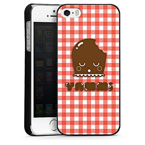 Apple iPhone 6 Housse Étui Silicone Coque Protection Bisou mousseux Dickmann Sucreries CasDur noir