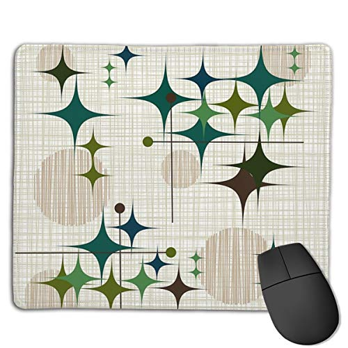 Eames Era Starbursts and Globes 2 (Bkgrnd) Design Gifts Mouse Pad 18