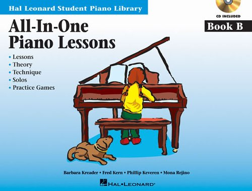 All-in-one piano lessons: book b piano+CD (Book & CD)