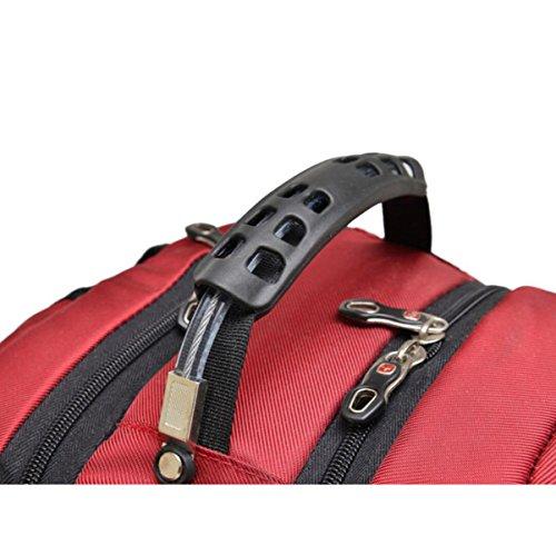 Rucksack Computer Tasche Männer Und Frauen Business Reisetasche Rucksack Tasche Black