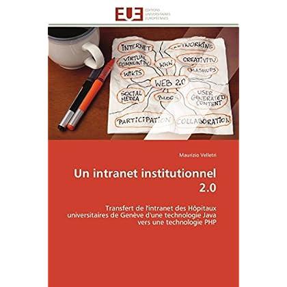 Un intranet institutionnel 2.0