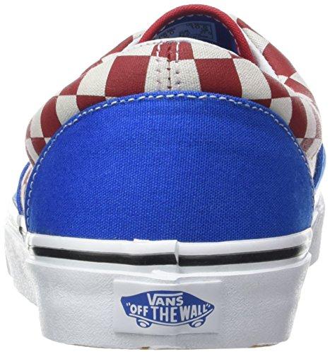 Vans Herren UA Era Sneaker Blau (2-tone Check Imperial Blue/true White)