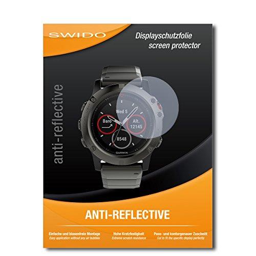 4 x SWIDO® Protector pantalla Garmin fenix 5X Protectores