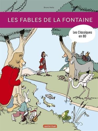 Les classiques en BD : Les fables de La Fontaine par Jean de La Fontaine