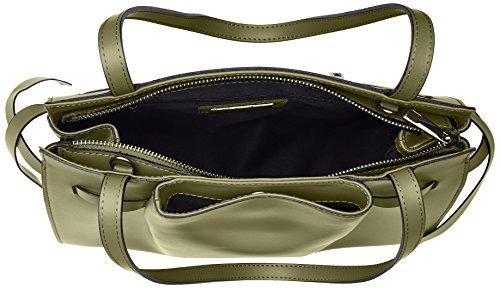 39x28x15 Verde Verde Chicca Damen cm Schultertasche Borse 8875 qCPCZwxgS