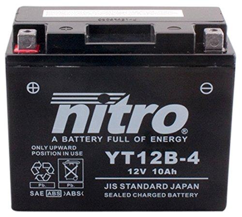 Nitro YT12B -4-N-Batteries, Nero (prezzo, incl. euro deposito 7,50)