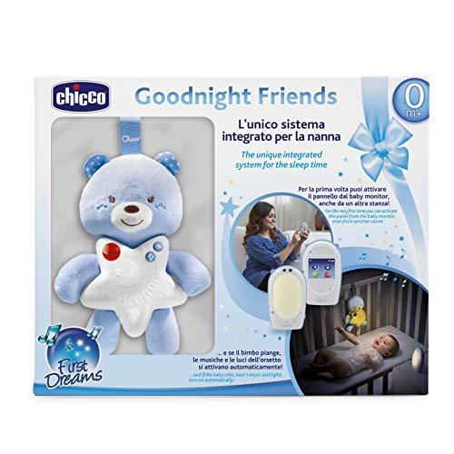 Chicco 00009380200000Vigilabebés audio Top + luz nocturna pequeño oso