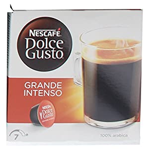 Choose 80 x Nescafé Dolce Gusto Caffé Grande Intenso, Strong, Coffee Capsules, Large Package, 80 Capsules by Nestlé
