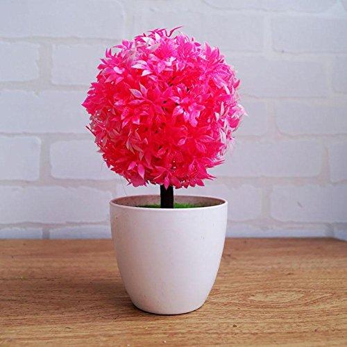 Newsbenessere.com 51R5OcSaEwL Alberi artificiali decorativi con la fioritura Bonsai moderna del Feng Shui simulazione fiori albero (Multi-color multi-stile),WB3056 , #35