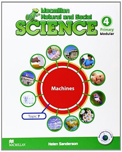 MNS SCIENCE 4 Unit 7 Machines - 9788415656081