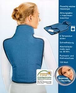 Rücken Heizkissen für Rücken, Nacken und Schulterbereich NEU 65 x 38 cm