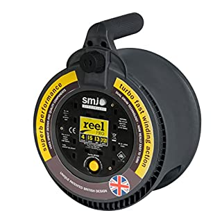 Reel Pro RP1513 13 A with 4 Socket Thermal Cutout of 15 m
