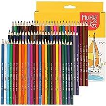 Cobee Set de Lápices de Colores Profesional para Dibujar y Pintar Multicolores Ideal para Adultos y Chicos (72 unidades)