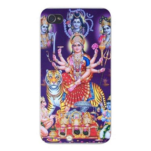 apple-iphone-custom-case-4-4s-snap-on-durga-maa-hanuman-bhairav-ram-krishna-shiva-hindu-deities