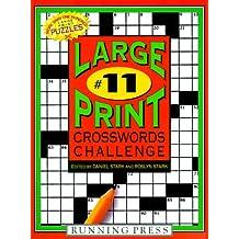 Large Print Crosswords Challenge 11