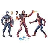 Marvel Legends Captain America: Civil War Actionfiguren-Set 3-teilig 15 cm