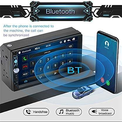 7-Zoll-2-Din-Auto-Navigation-StereoAuto-Unterhaltung-Multimedia-Radio-Mit-TF-USB-FM-Autoradio-Touchscreen-Bildschirm-GPS-Navi-Bluetooth-Freisprecheinrichtung-Fr-Android-IOS-Mit-Fernbedienung
