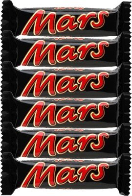 Mars Chocolate Bars, 6-Count