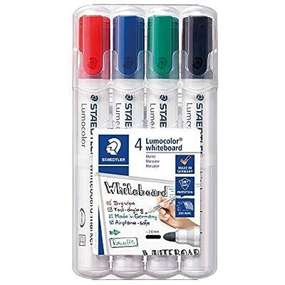Staedtler Lumocolor Whiteboard Marker 351-2 Bullet Tip by Staedtler