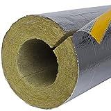 1m Rohrschale Alu 25mm Dämmstärke für 22mm Rohrdurchmesser Heizungsrohrisolation Heizrohrisolierung Rohrisolation Heizung Dämmung Rohre dämmen