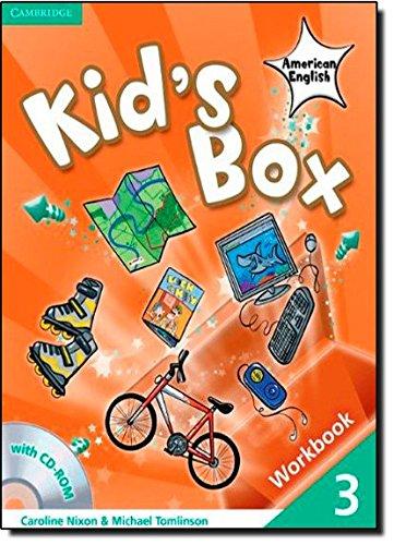 Kid's Box American English  3 Workbook with CD-ROM