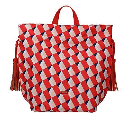Patrizia Pepe 2V6595/A2NF Zaino Donna Geometric Coral