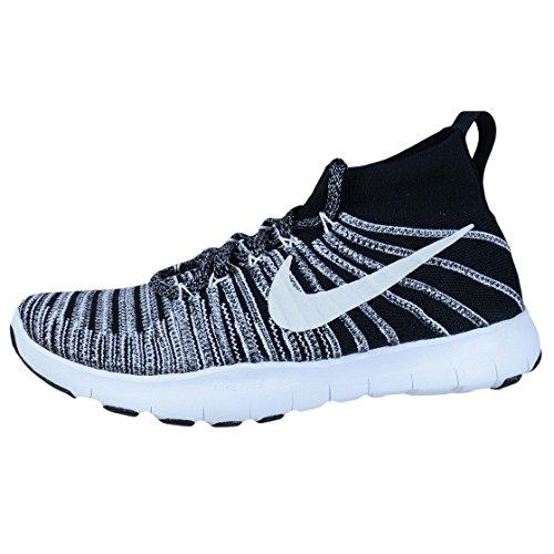 Tren Gratuito Negro Flyknit Homme Blanco Nike Vigor De Deporte Voltios Zapatillas gqd5Bxw