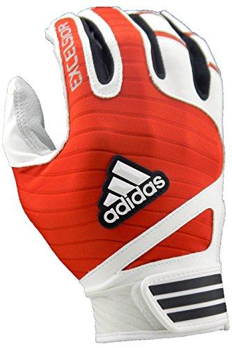 adidas Excelsior Batting Handschuhe (Paar), L23200-114-01, weiß/rot, M