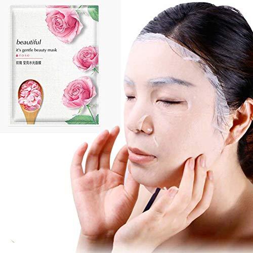 Masque pour mouchoirs Super Hydrating Tissue Huoju Real Nature Nouvelle Génération (Rose)