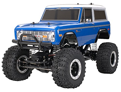 Tamiya 300058436 - Ford Bronco 1973, ferngesteuertes Offroad Fahrzeug, 1:10, Elektromotor, Bausatz