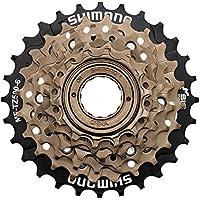 SHIMANO MF-TZ500 Schraubkranz 6-Fach braun/schwarz 2018 Kassette
