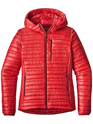 Damen Outdoor Jacke Patagonia Ultralight Down Hooded Outdoor Jacket (Ultralight Down Jacket)