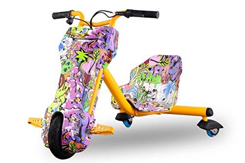 Slider 120W Kinder Drifttrike Driftbike Drifter Trike 360 Scooter (Camouflage Girl)