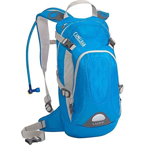 CamelBak L.U.X.E. - Mochila para mujer con sistema de hidratación, color azul