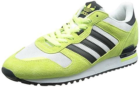 adidas Zx 700, Herren Sneaker 41.5, grün - Lima / Weiß / Schwarz - Größe: EU 44 2/3