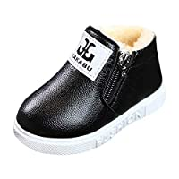 MERICAL Baby Girls Shoes Children Toddler Letter Sneaker Boy Warm Soft Anti-Slip Boot Shoes