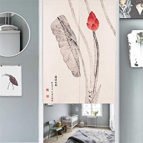 Cortina para puerta Mr Fantasy, noren japonés, tapiz, biombo para insectos, E1, 85*120cm
