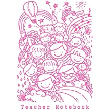 """Teacher Notebook: 6"""" by 9"""" notebook, 50 lined pages"""