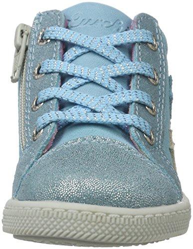 Lurchi Bibi, Chaussures Marche Bébé Fille Blau (Lt.Blue)